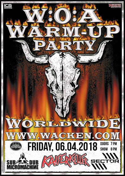 Wacken Warm Up Party in Hamburg mit SDMM
